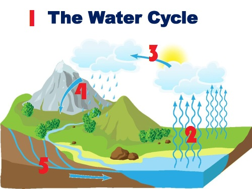 Water CycleStep By Step From Quran